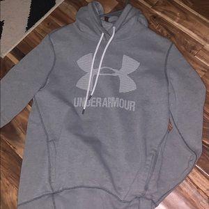 under armour hoodie!